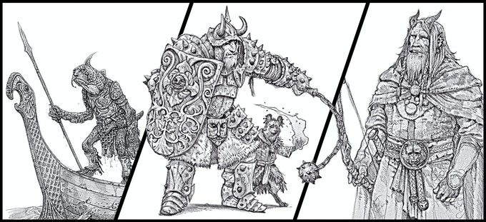 New player races include river and sea trow, bugbear, gnoll and half-giant!