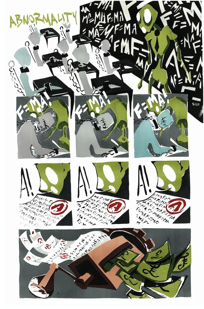 Abnormality: Script - Kyle Houston, Art - Rosa Devine