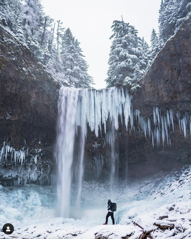 First Place goes to @lestertsaiphotography, who took his new Peak Design 45L Travel Line Backpack out in the sub-freezing temperatures yesterday to Mount Hood National Forest.