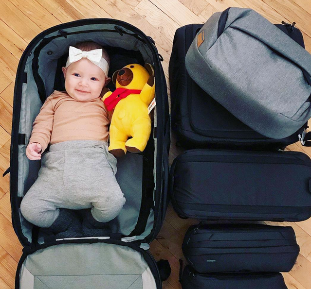 Across all PD team members, we've got about a half dozen offspring under the age of 2, and we'll be honest: it's SO ADORBS to take pictures of babies in bags. @lykke_hansen_fotografi gets it.