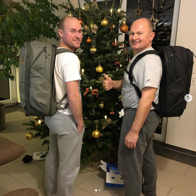 @tobik176 When you and your dad get each other the same Christmas present, and then another family member makes you pose in front of the tree, and then later you realize you and your dad are wearing the same thing and you've essentially become your dad.
