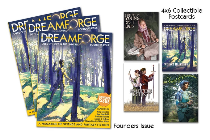 The First Issue of DreamForge is coming out 2/14/19