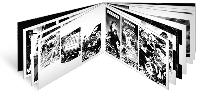 Pages 8 and 9 as shown in this board book mockup