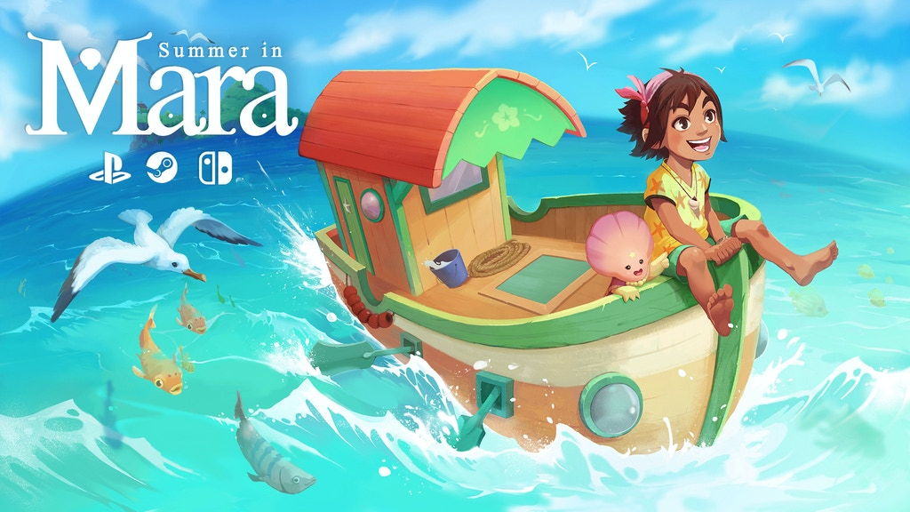 Summer in Mara - An adventure set in a tropical ocean