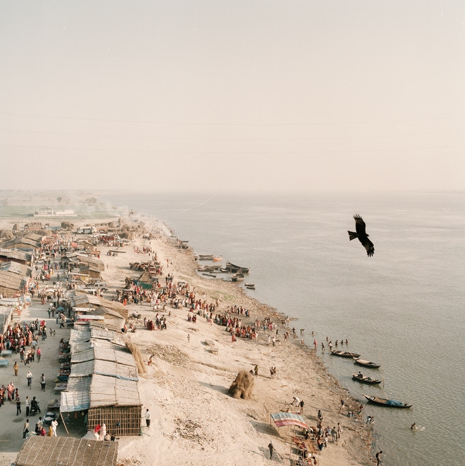 Print A - 'Along the Ganges, India, 2014'