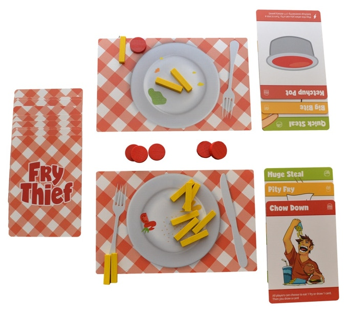 The components in Fry Thief
