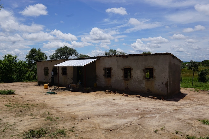 Moriah Community School -- over 300 students come to Moriah every day in Kunchubwi Village