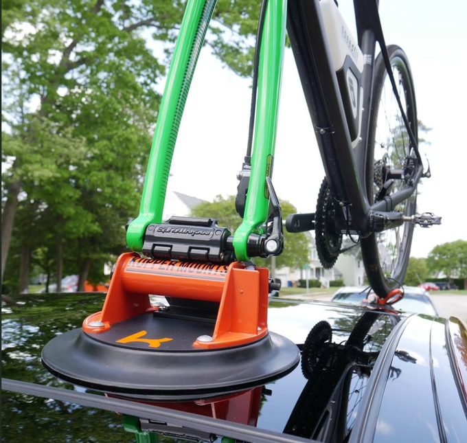 Kupper Mounts' Mighty Grip Has Guaranteed Vacuum Power - Can Hold a 300 lb Man Upside Down!