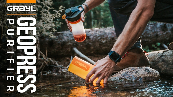 Fastest, simplest, most versatile water purifier in the world! OnePress™ Purification – for international travel, outdoor adventure, and survival.