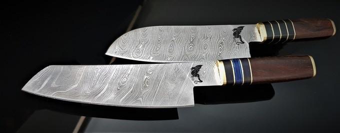 Hiroto Gold damscus steel series