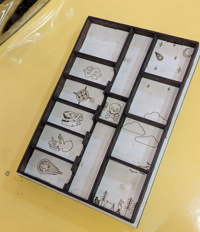 First prototype of the insert