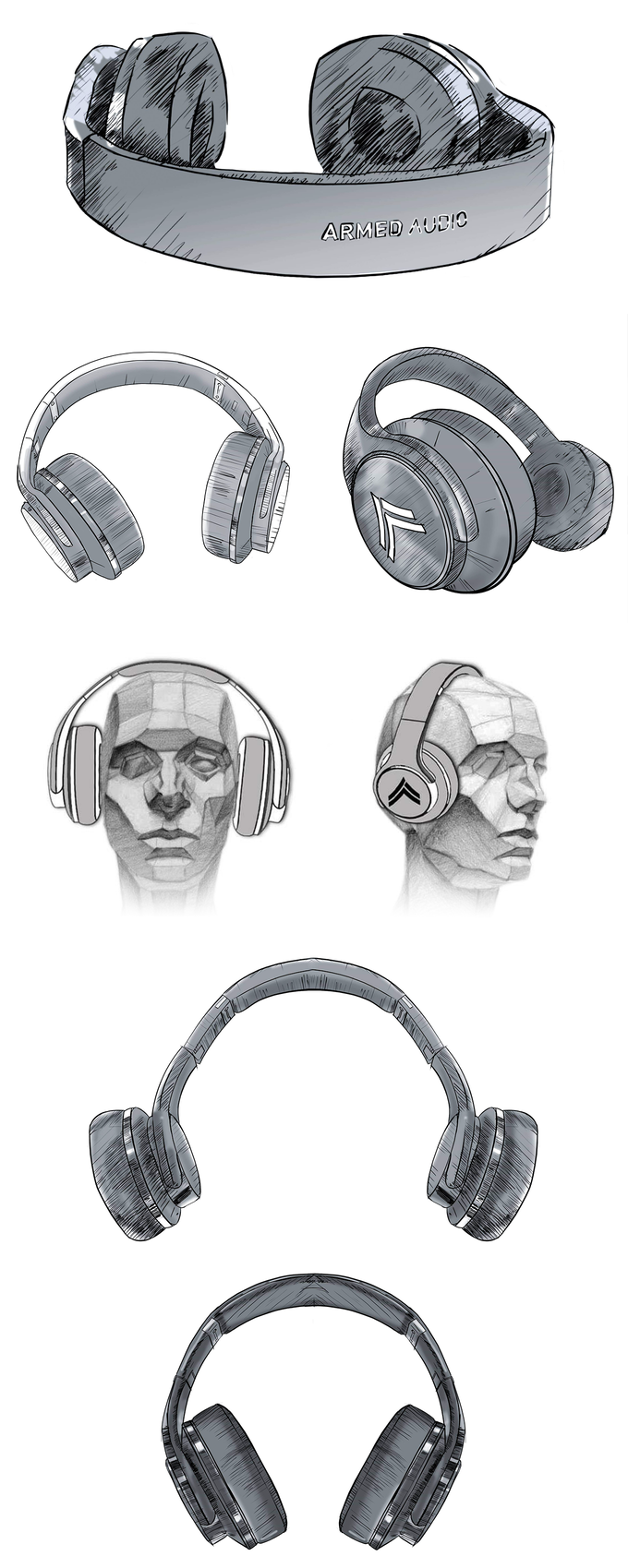Final sketches of The ELITE-300