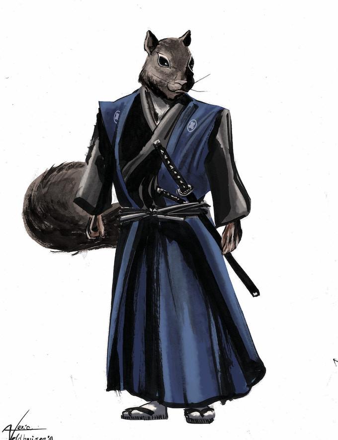 """Oishi Kuranosuke """"Yoshio"""" Yoshitaka, samurai of Lord Asano / Leader of the 47 Ronin"""