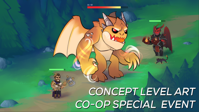 While attacking an opponent's base, random unique events can trigger that will flip the entire game on its head and you and your opponent will have to team up to defeat a mysterious challenge!