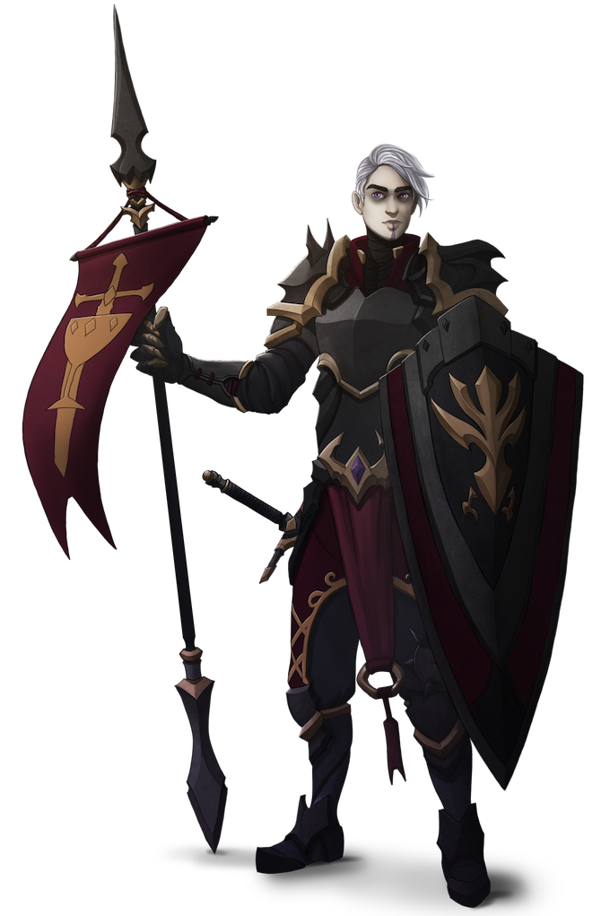 Sir Lucius Ironfell IX, LG Male Immortis Knight
