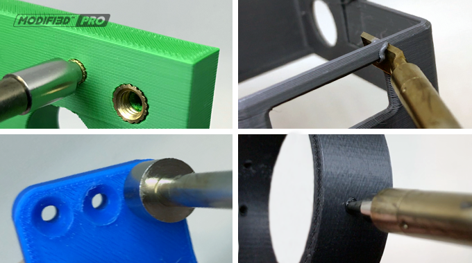 Adjustable temperature gives precise control for different tasks and materials.