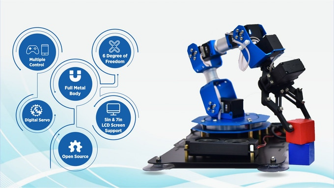 PiArm: The DIY Robotic Arm for Raspberry Pi by SB Components