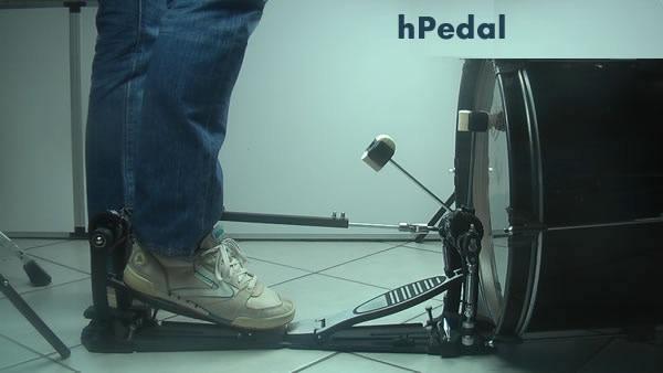 heel kick standing