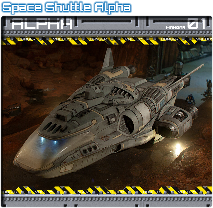 Hangar 01: Space Shuttle Alpha