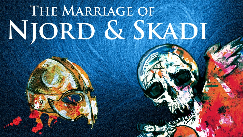 NORSE COMIC: (Once Upon Again) The Marriage of Njord & Skadi project video thumbnail