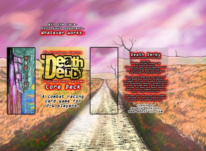 Box art featuring card art for Dirt Road and Nitro Boost.