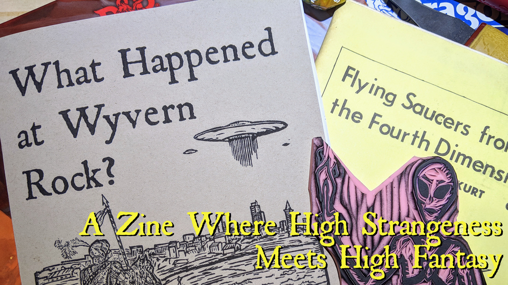 What Happened at Wyvern Rock? by Drew Meger — Kickstarter