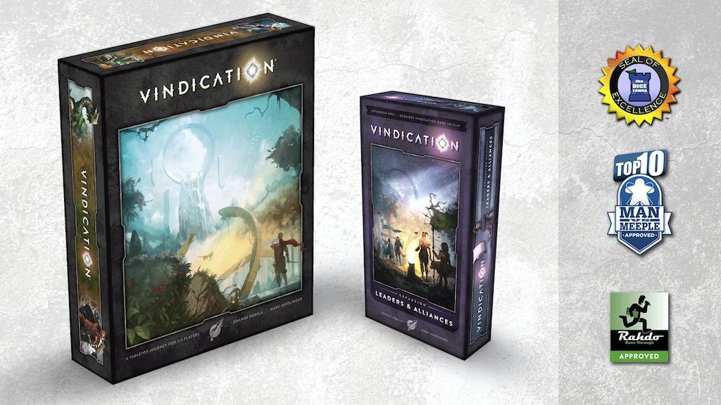 Vindication® Boardgame project video thumbnail