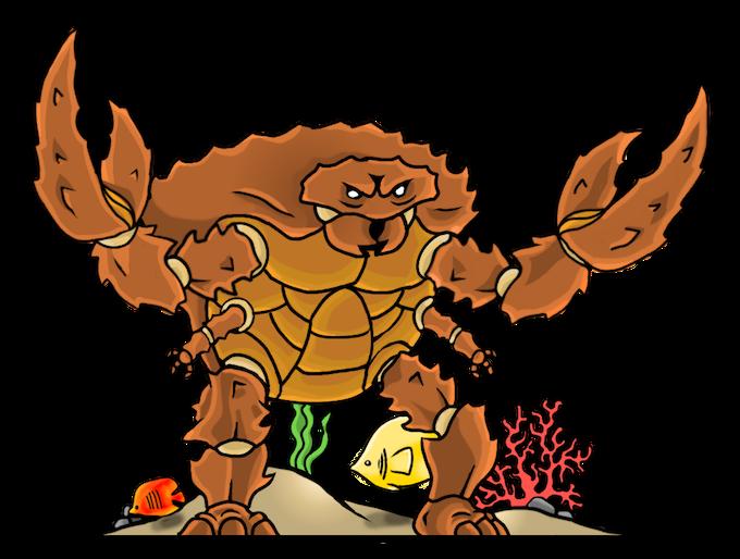 The crabby man :D