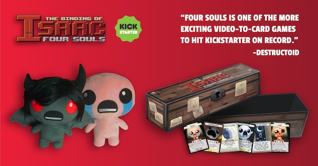 New products for Binding of Isaac: Four Souls