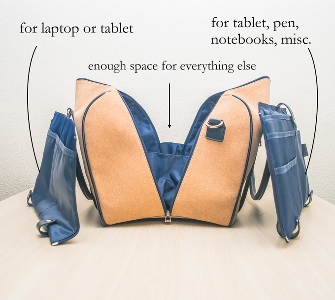 A total of 16 utility pockets means that everything will be organized