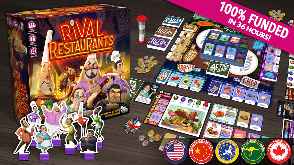 Rival Restaurants By Gap Closer Games Kickstarter