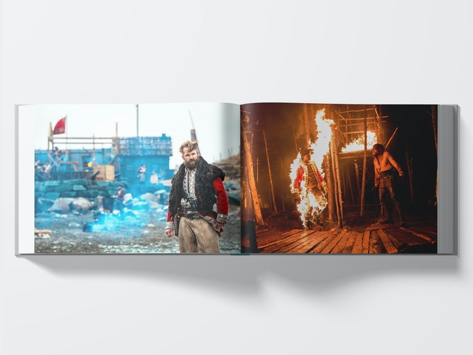 Frontier Photographic Art Book Interior Mockup