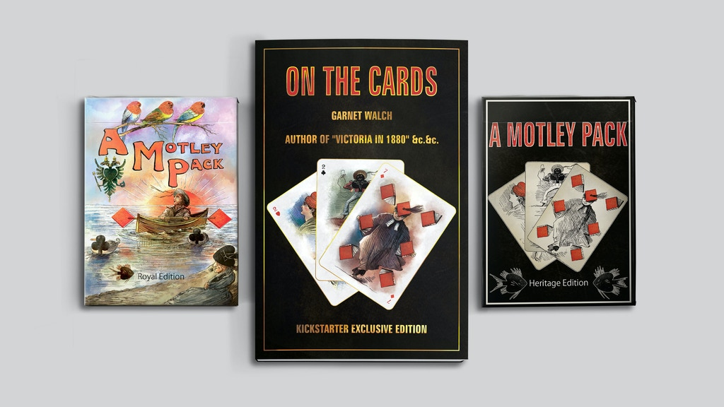 A Motley Pack -Transformation Playing Cards & Book (Limited)