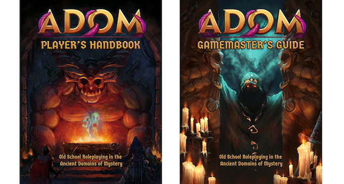 ADOM RPG: Player's Handbook & Game Master's Guide (draft versions)