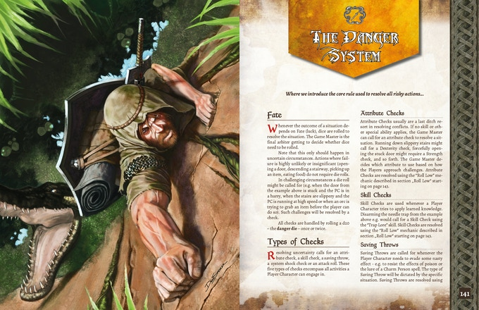 ADOM RPG PHB: The Danger System - Advantage/Disadvantage with a Twist