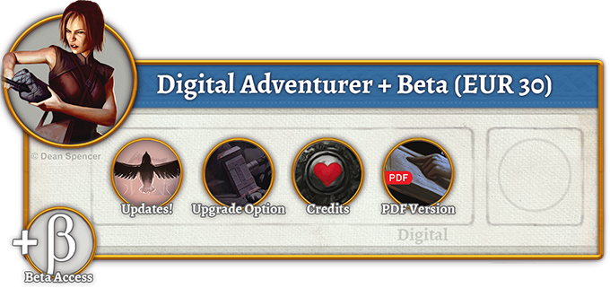 Digital Adventurer + Beta Rewards (30 EUR)