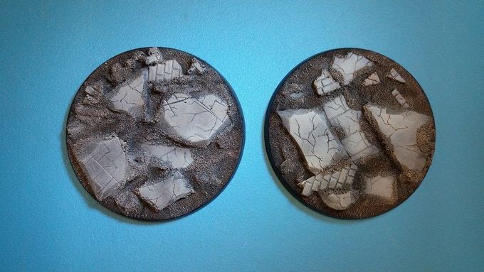 80mm Ruined City Bases