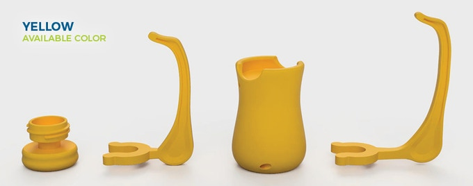 Yellow is now an available color for all the Hobby Holder parts!