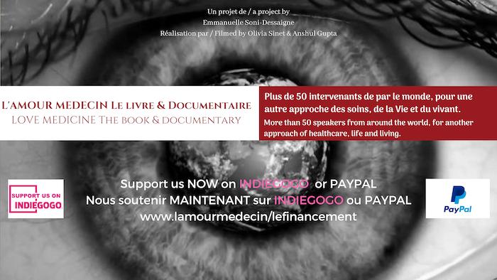 MERCI d'avoir manifesté vos espoirs d'une médecine intégrative.CONTINUER de nous soutenir, rejoindre l'association et participer sur www.lamourmedecin.org
