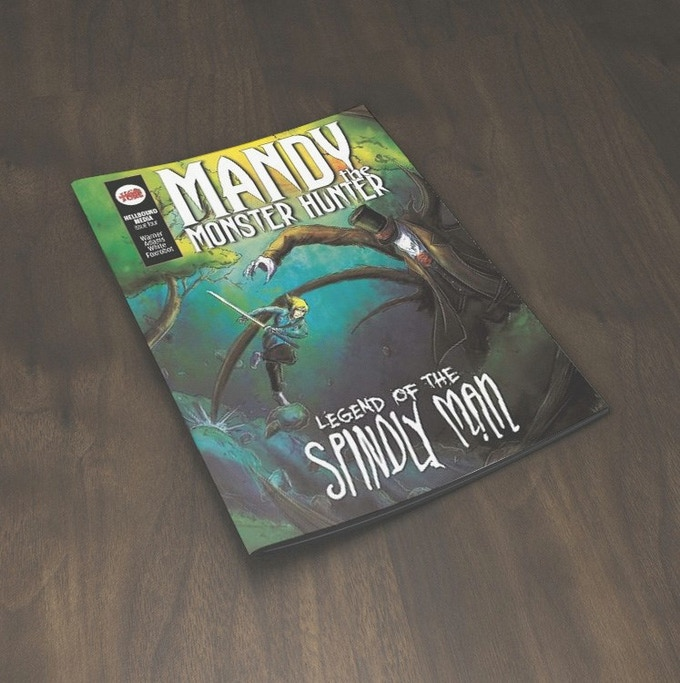 Mandy the Monster Hunter: Legend of the Spindly Man #4