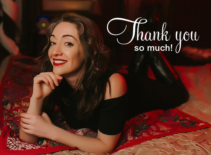 Thank you so much for your support! xoxo