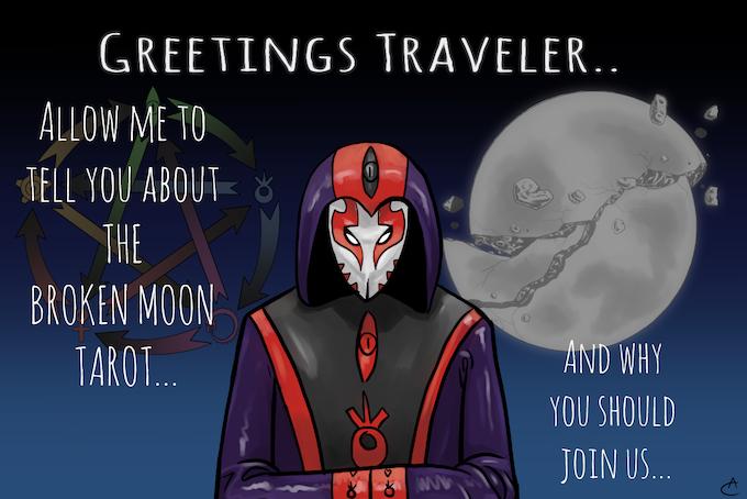 The Broken Moon Tarot by Adrien Cadoux — Kickstarter