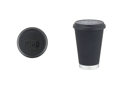 In the updated model, the tumbler has a screw-on type lid that is fully sealed when closed, making it portable and easy to use.