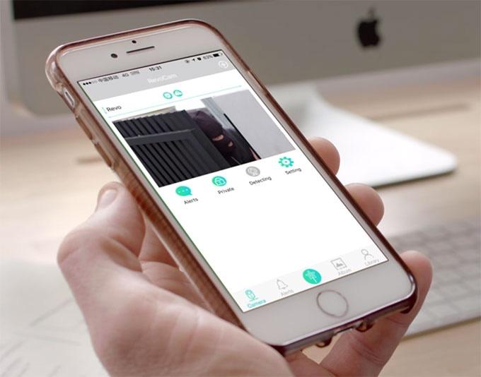 SimCam can livestream video via our app.