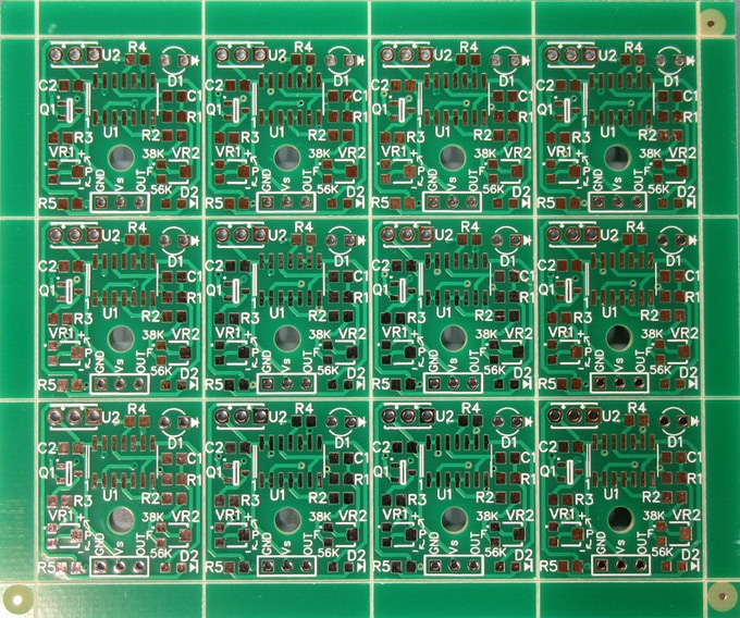 IRD V2 PCB Panel - Front View