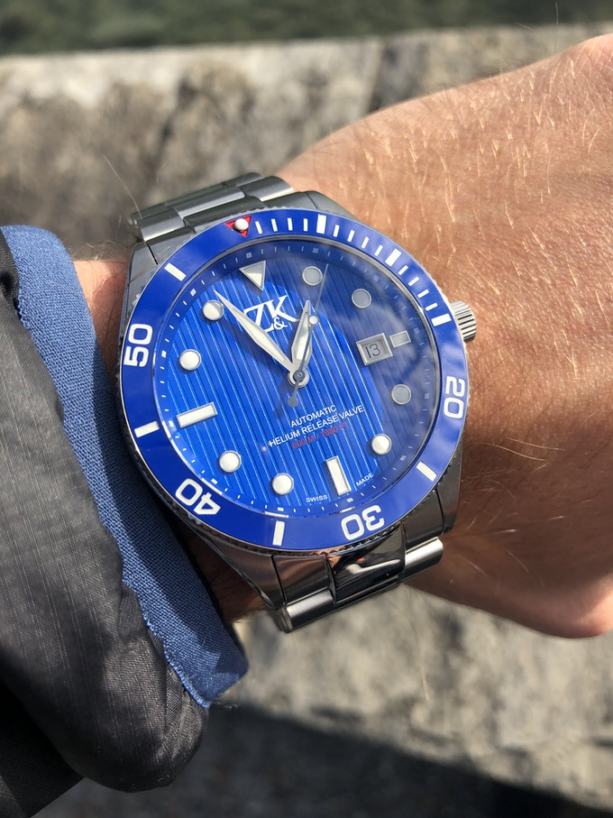 The ZK No.2 Diver's Watch - Available in 6 Designs