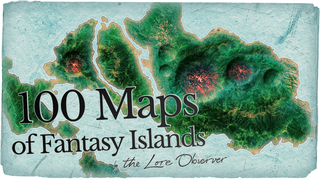 We want to Make 100 fantasy maps, join us in this collaborative worldbuilding project and tell us what's going on in these islands!