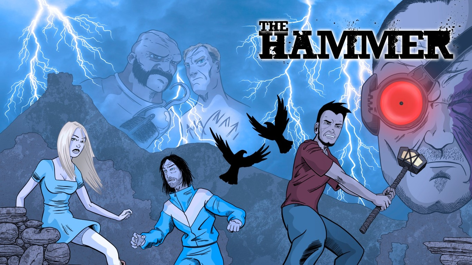 The Hammer by Simon Squires » Getting Stronger! — Kickstarter