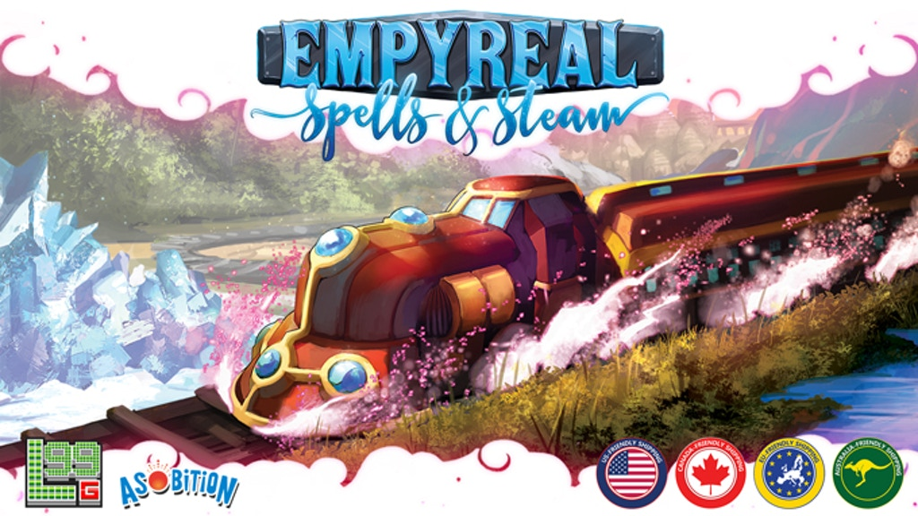 Empyreal: Spells & Steam - ファンタジー鉄道構築ゲーム project video thumbnail