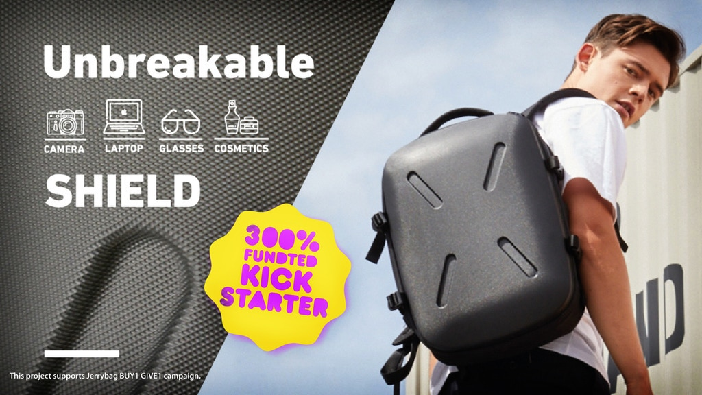 SHIELD: Multi-Purpose Hardshell Backpack for Work & Travel project video thumbnail